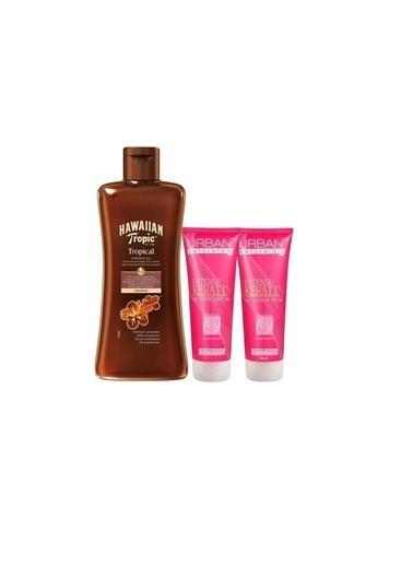 Urban Care Intense Keratin Şampuan + Saç Kremi + Tropical Tanning Oil Set Renksiz